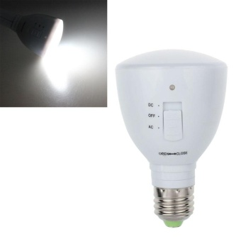 4W E27 AC 85-265V 24LED Rechargeable Emergency Light Lamp Bulb Flashlight - intl