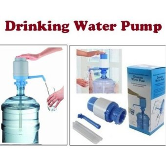 5 Gallon Bottled Water Drinking Hand Press Manual Pump DispenserFaucet