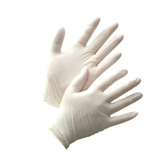 500 PCS Disposable Latex Gloves, Powder Free Smooth, Food SafeSurgical