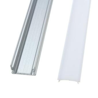 50cm U Style Aluminium Channel Holder LED Strip Light Bar Under Cabinet Lamp #1 - intl - 4