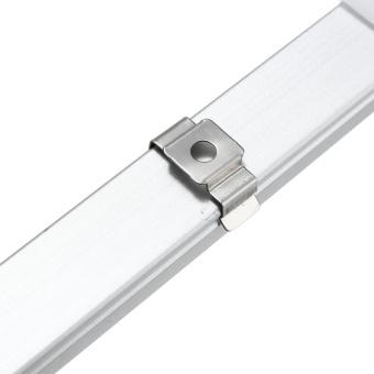 50cm U Style Aluminium Channel Holder LED Strip Light Bar Under Cabinet Lamp #1 - intl - 3