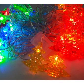 50L Musical Tree Star Christmas x-mas Light Mabuhay Star ICC Complaint(Multicolor)