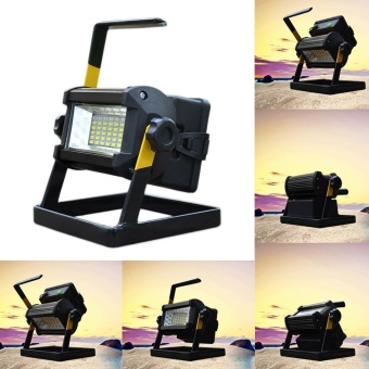 50W 36 LED Portable Rechargeable Flood Light Spot Work CampingFishing Lamp - intl