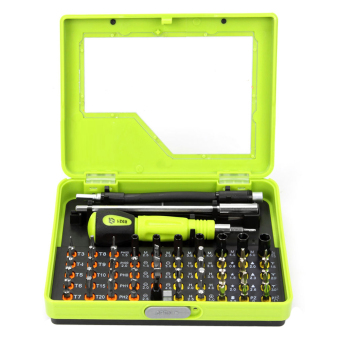 53 in1 Multi-Bit Precision Torx Screwdriver Tweezer Repair Tool