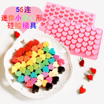 55 silicone chocolate Mini small love silicone Mold