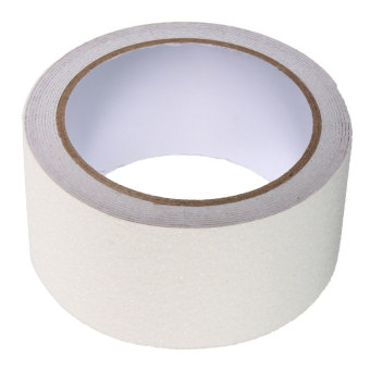 5cm x 3m Floor Safety Non Skid Tape Roll Anti Slip Adhesive Stickers High Grip white