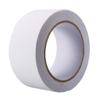5cm x 5m Floor Safety Non Skid Tape Roll Anti Slip Adhesive Stickers High Grip white