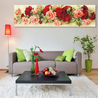 5D Diamond Embroidery Painting Rose Flower Cross Stitch DIY Craft Home Decor