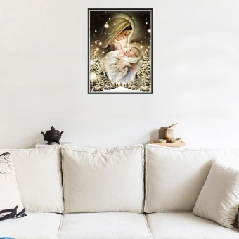 5D Embroidery Paintings Rhinestone Pasted DIY Diamond painting Cross Stitch - intl