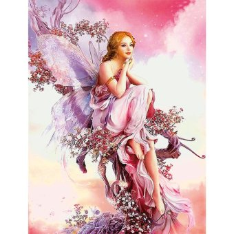 5D Fairy Butterfly DIY Diamond Embroidery Painting