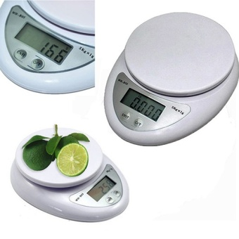 5kg 5000g 1g Digital Kitchen Food Diet Postal Scale Electronic Weight Balance - intl