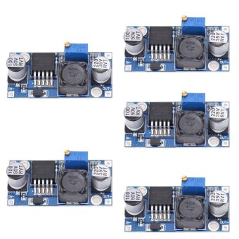 5pcs DC-DC 3A Buck Converter Adjustable Step-Down Power Supply Module LM2596S - intl