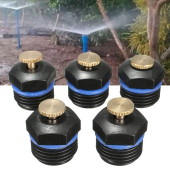5x Garden Water Lawn Irrigation Spray System Sprinkler Head Plant Flower Cooling