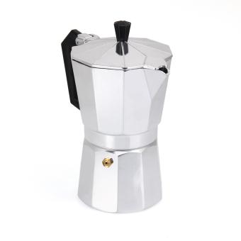 6 CUP MOKA Espresso Coffee Maker Percolator Perculator Stove TopNEW - 4