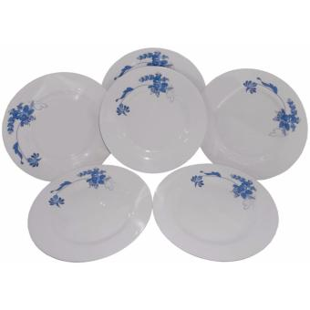 6-pc 9'' Dinner Plate (Blossom Design) Price Philippines