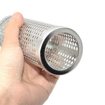 6'' Stainless Steel Round Pellet Tube Smoker Pipe For Beans BBQ -intl - 2