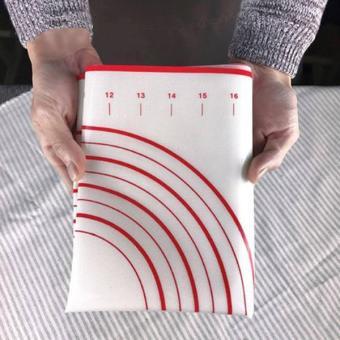 60x40CM Silicone Baking Mat Sheet Rolling Dough Liners Pad - intl - 5