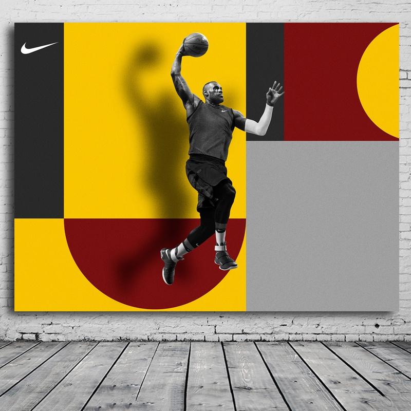 Philippines   60x80CM Kobe Bryant Pitching Basketball Print Painting ...