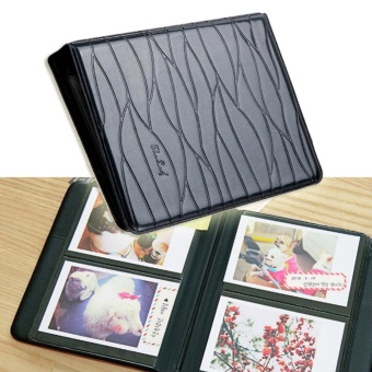 64 Pockets Mini Album Photo Case with Leaves Pattern for FujiFilmInstax - intl - 2