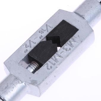 6pcs 3F Hand Screw Thread Metric Plug Tap Set M3 M4 M5 M6 M8 - intl - 5