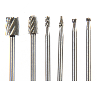 6pcs Rotary Tool Mini Drill Bit Set Cutting Forwood Carving Tools Kit