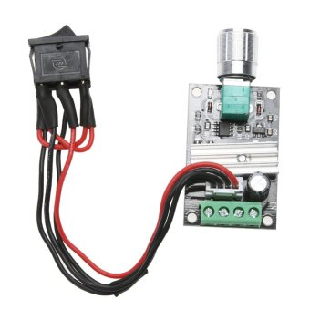 6V 12V 24V 3A PWM DC Motor Speed Controller Forward Reverse Switch- intl