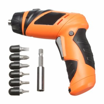 6V Screwdriver Electric Drill Battery Operated Cordless Wireless Mini Portable