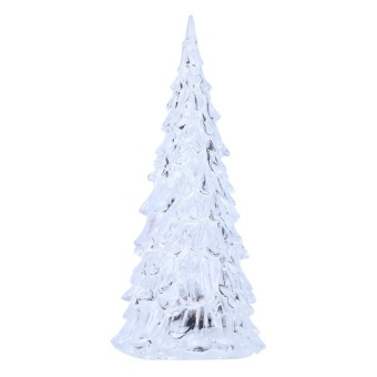 7 Colors Changing Acrylic Christmas Tree LED Night Light Lamp For Christmas - intl