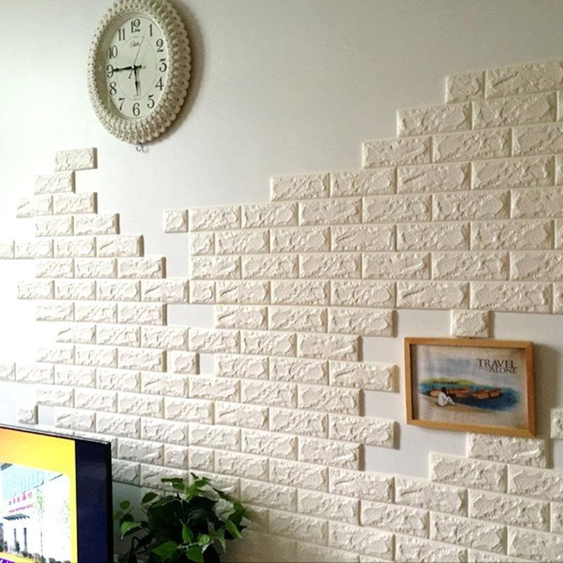 Philippines   70x77cm PE Foam 3D Wall Stickers Safty Home Decor ...