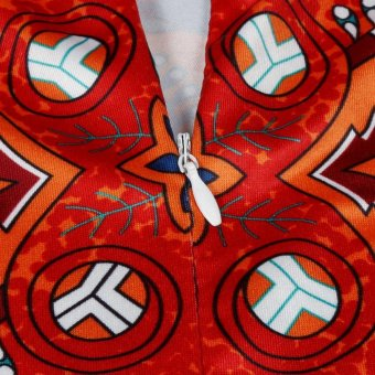 75 x 75cm Round Mandala Floor Pillows Round Bohemian Meditation Cushion Cover Ottoman Pouf cover case, Pom Pom Pillow Cases, Outdoor Cushion Cover J3 - intl - 2