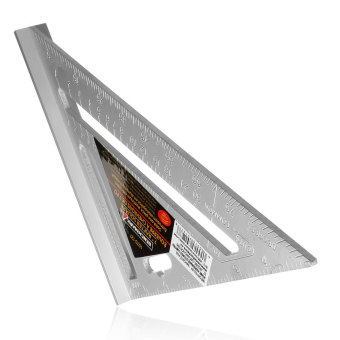 7inch Silver Aluminum Alloy Speed Square Roofing Triangle Angle Sc 1 St  Lazada Philippines