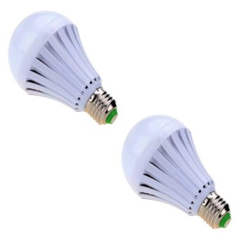 7W LED Home Emergency Intelligent Finger Led Bulb Light LampRechargeable Magical Water Bulb set of 2