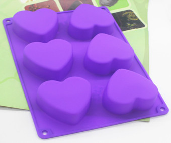 80-100g DIY soap lovely new love you silicone Mold