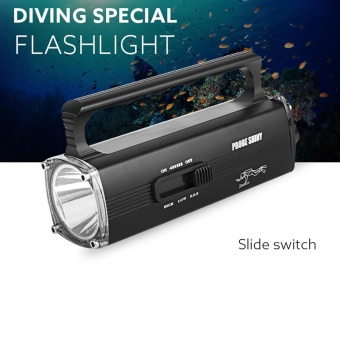 8000LM CREE XM-L2 T6 Scuba Diving Underwater 100M Flashlight Torch Waterproof - intl