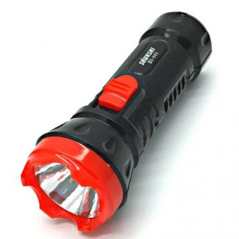 #846 Rechargeable Flashlight(BLACK) with FREE LD LACE