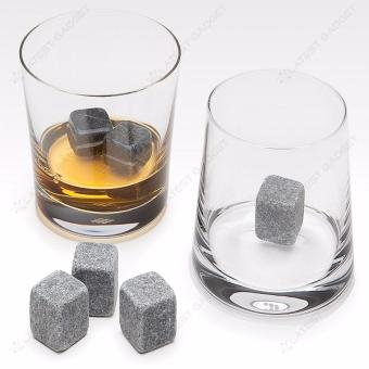 9 Piece Whisky Chilling Stones (Gray)