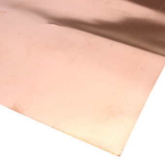 99.9% Pure Copper Cu Metal Sheet Foil 0.1x200x500MM For Handicraft Aerospace - 2