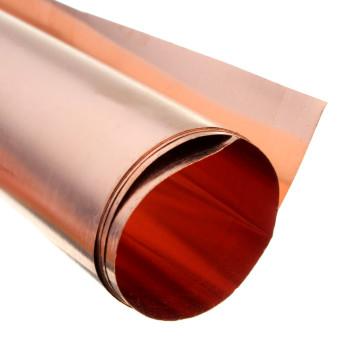 99.9% Pure Copper Cu Metal Sheet Foil 0.1x200x500MM For Handicraft Aerospace - 4