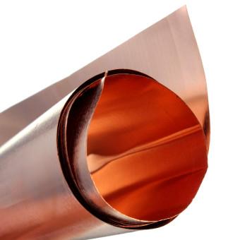 99.9% Pure Copper Cu Metal Sheet Foil 0.1x200x500MM For Handicraft Aerospace - 5