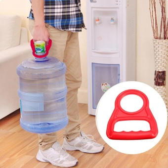 9PCS Bottle Handle Carrier Easy Lift Transport 5 / 3 Gallon Water Cooler Bottle Jug - intl