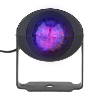 9W Mini RGBW Water Wave Ripple Effect Stage Light Speed Adjustable 7 Colors Lamp with IR Remote Support Static Color Auto-run RGB Flash for KTV Party Club Disco Pub Bar Banquet School Show Home Entertainment - intl - 4