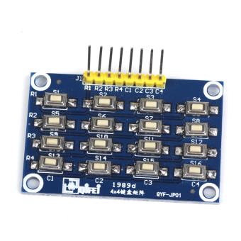 A 4x4 Matrix Keypad Keyboard Module 16 Buttons 8 Pin For Arduino
