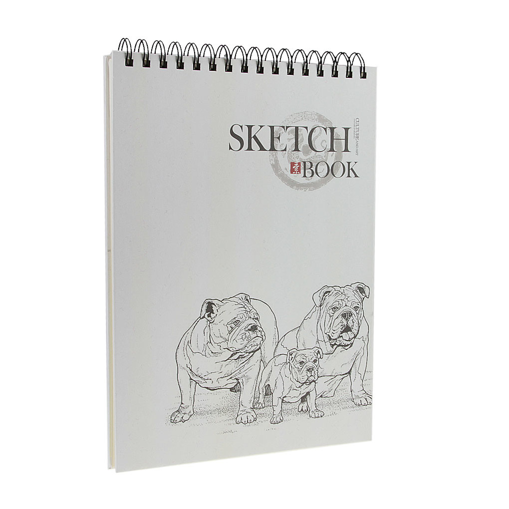 ... A4 120 Pages Premium Drawing Pads Books Blank Notebook Journal 210*290MM Sketch Book, ...