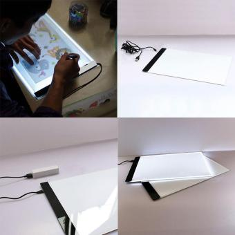 A4 LED Artist Thin Art Stencil Board Light Box Tracing DrawingBoard - intl