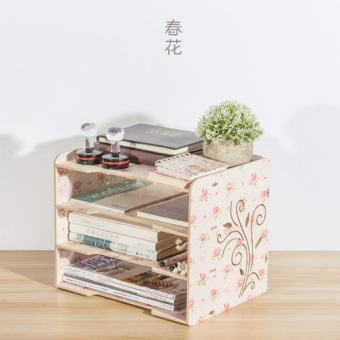 A4 multi-layer data frame bookcase office file rack