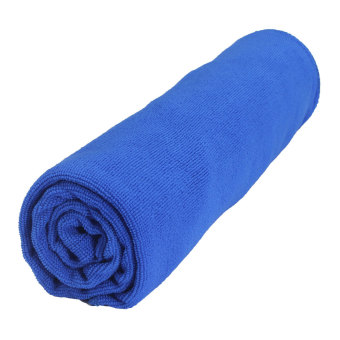Absorbent Microfiber Towel Bath Quick Drying Washcloth Bath Dark Blue