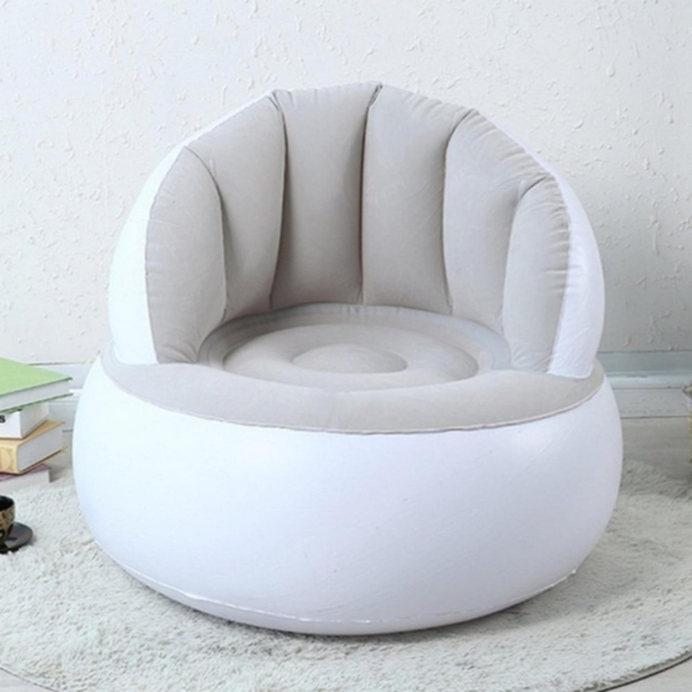 Abusun Hot Selling Home Furniture Children Inflatable Sofa Air SeatChair Lazy Reading Relaxing Bean Bag for Living Room - intl