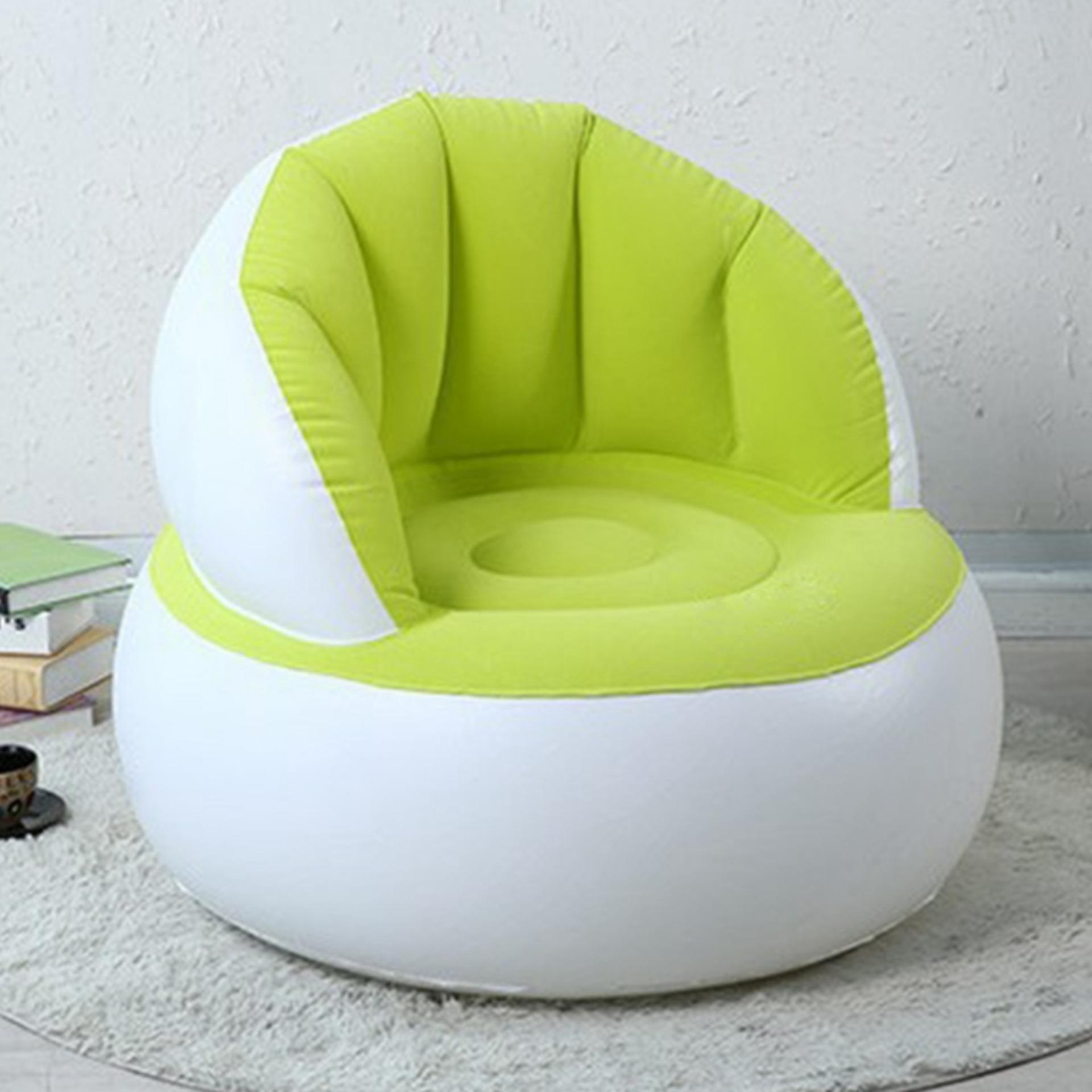 Abusun Hot Selling Home Furniture Inflatable Sofa Air Seat ChairLazy Reading Relaxing Bean Bag for Living Room - intl