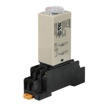 AC 220V H3Y-2 Power On Time Delay Relay Solid-State Timer 1.0~30Min DPDT Socket - Intl - 5