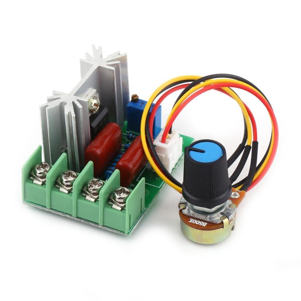 Ac 50 220v 2000w Scr Electric Voltage Regulator Temperature Motor Light Dimmer Speed Controller Intl Philippines